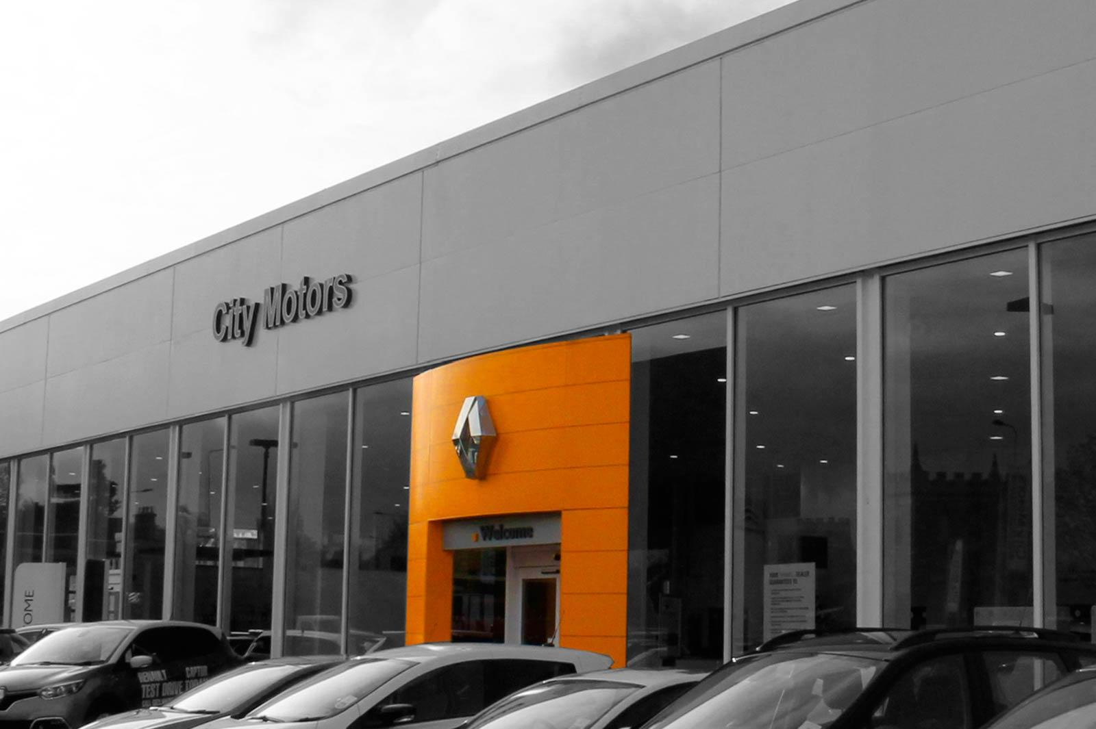 City Motors, Bristol Car Showroom