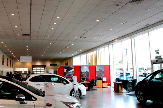 City Motors, Bristol Car Showroom