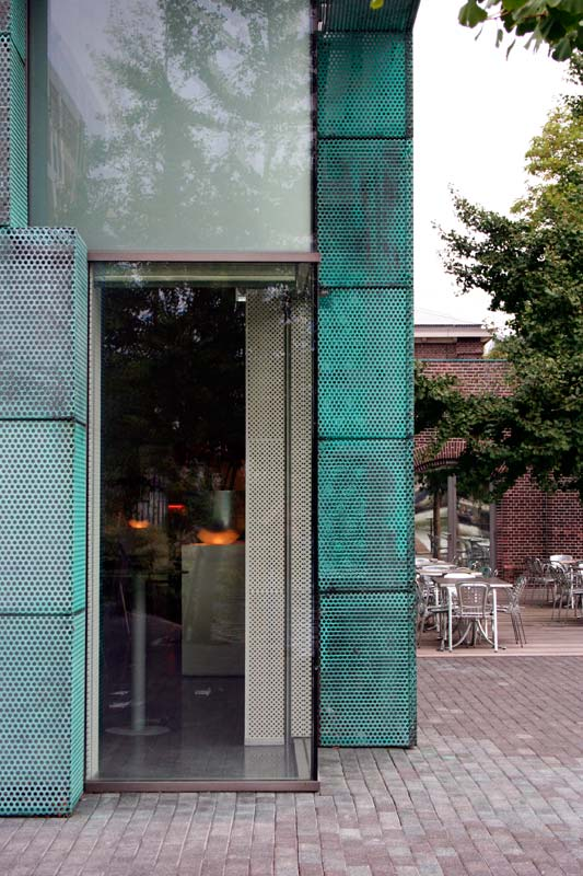 Amsterdam Building - Copper Cladding