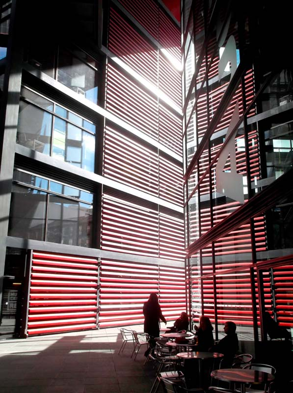 Reina Sofia Museum 2 Madrid by Architect Jean Nouvel
