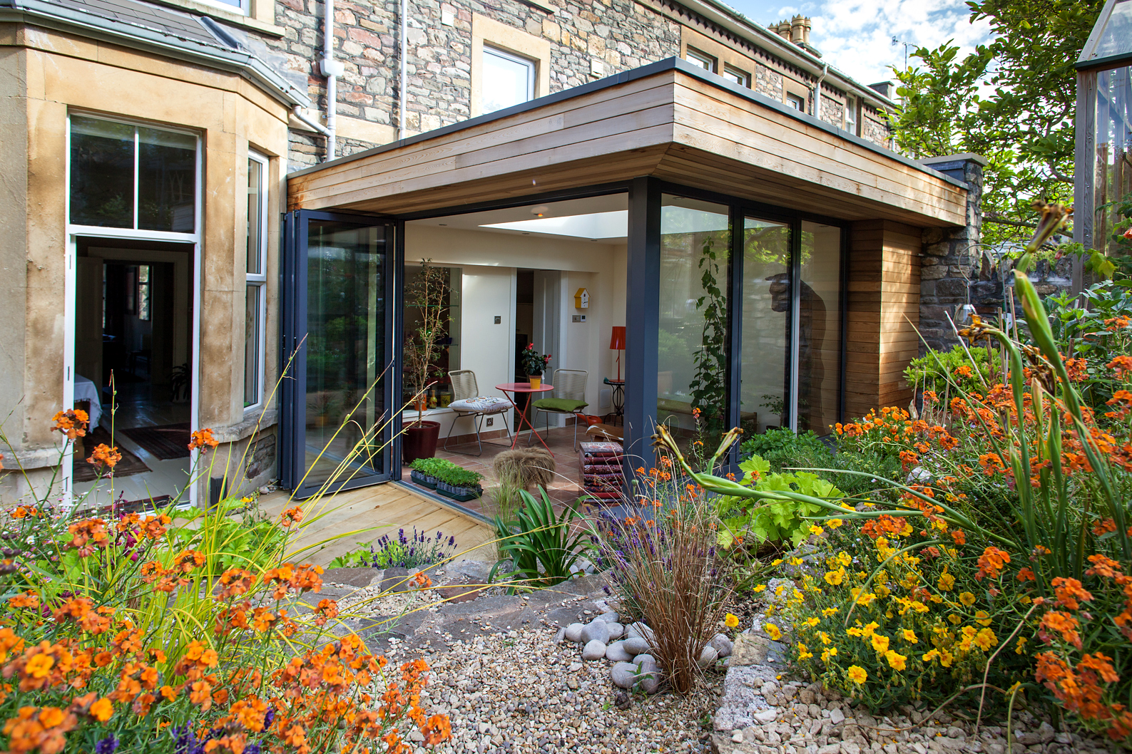 Graham rivers architects garden room extension for Garden room definition