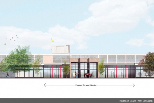 Proposed Reception Building